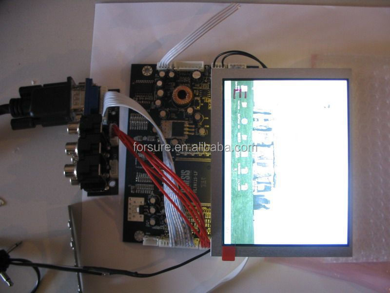 "TFT LCD Panel 7"" sunlight readable"