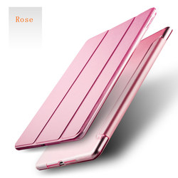 For Ipad 4 Case 50Pcs Pu Leather Front Smart Cover+ 50Pcs Solid Color Hard Back Case For Ipad 4