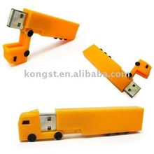 ABS Truck Shaped USB Memory Drive USB2.0 Promotional USB Stick