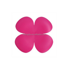 Silicone Coaster Rose Circle Heat Resistant Cup Mat Waterproof Cup Mat, cup pad
