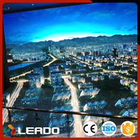 Shanghai manufacture economic p8 full color truck mobile led screen
