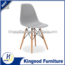 High quality Colourful Replica plastic dinner chair