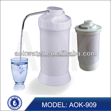 2016 New arrival AOK 909 mineral alkaline water filter housing ionizer