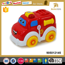 Battery operated fire engine toys with light