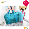 Sedex audit factory Unisex Flight Folding Travel Bag Waterproof Fancy Travel Duffel Bag