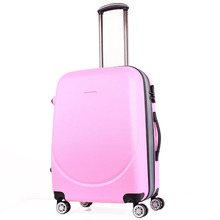 Factory price abs pc hard travel suitcase fashion luggage trolley cases