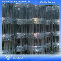 Hot Sale!! Cheap Cattle Fence, Electro Galvanized Cattle Fence