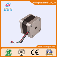 China permanent magnetic electric 3.24V stepper motor animation