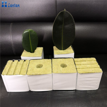 New Type Hydroponic Rock wool cubes for Agricultural planting