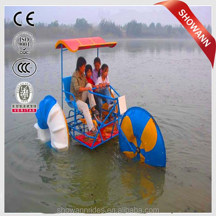 Aquatic amusement equipment water tricycle