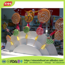 Alibaba hot sale gummy lollipop/mouse gummy candy/coconut candy