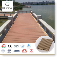 2017 High Quality WPC PE Wood Plastic Composite 146*23mm Decking Flooring