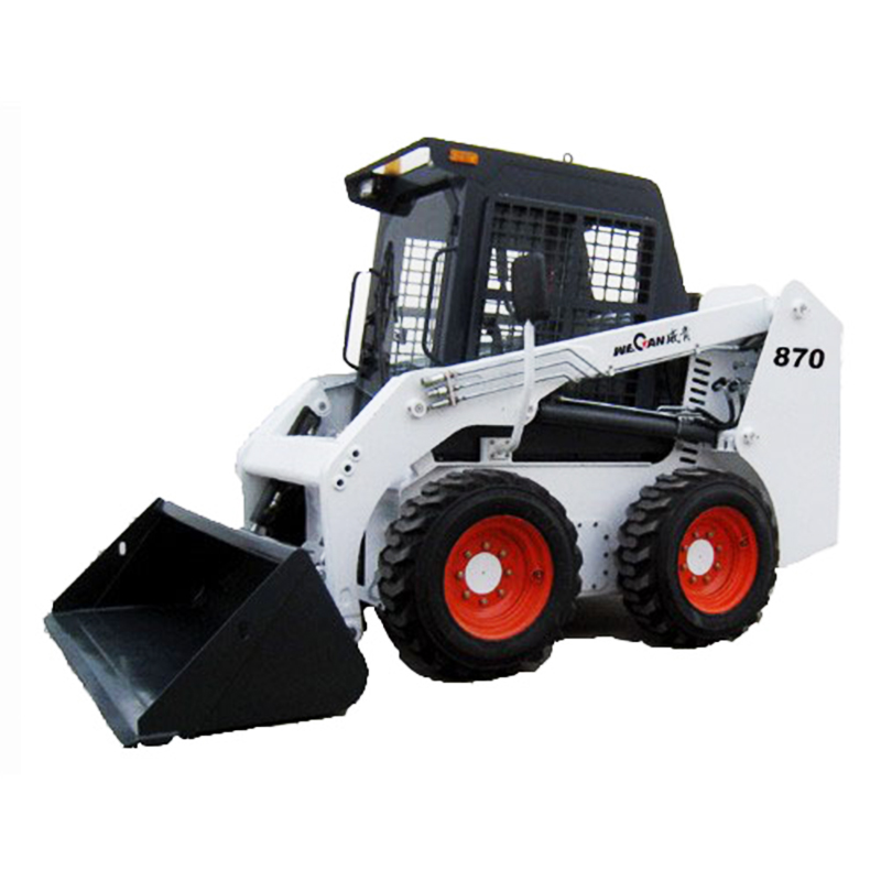 mini front loader WECAN WT800 chinese skid steer loader