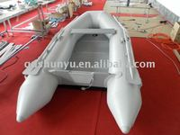 CE certificate inflatable 1.5mm korea pvc inflatable boat