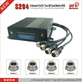 CE FCC hdd rohs 4ch dvr, H.264 digital video recorder dvr