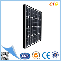 2015 new 12V 60W mono semi flexible small solar panel