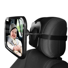 Acrylic baby safety back seat mirror, Rear Facing Car Seat Baby Mirror,Baby Car Mirror