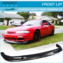 HIGH QUALITY FRONT BUMPER LIP For 95 96 NISSAN 240SX SPOILER G STYLE POLY URETHANE BODY KITS