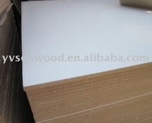 two sides white MDF particle plywood board for furniture