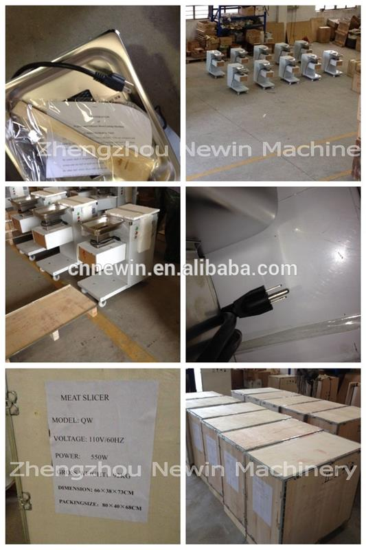 Automatic Chicken Meat Cutter Machine 800kg/h