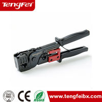 8p8c(rj45)/6p6c(rj12)/6p4c(rj11) stripping cutting crimping 3 in 1 hand crimping too rj45 crimpper power tools