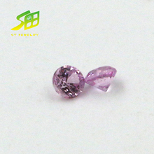 wholesale 1.75mm natural pink sapphire loose gemstones