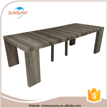 China 2016 cheapest design modern wholesale Square folding table