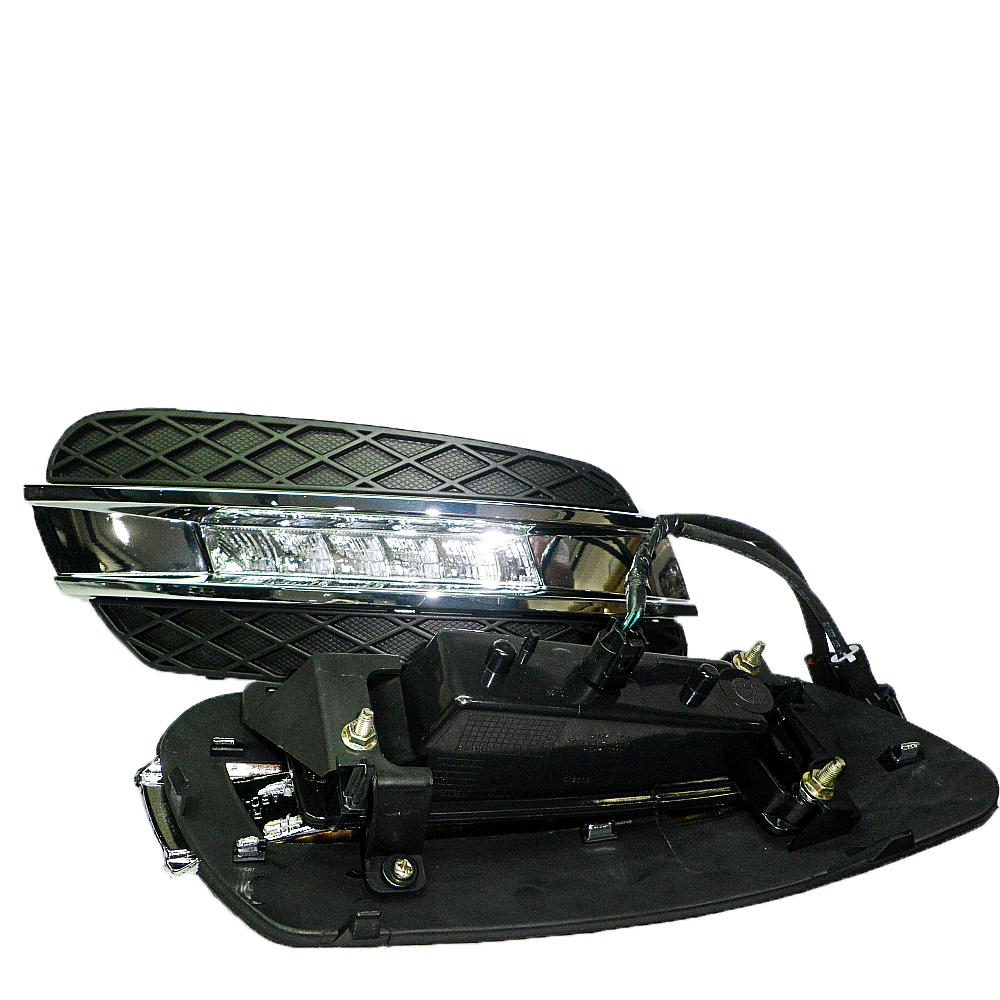 LED car driving bar Daylight Running Lamp <strong>For</strong> <strong>Benz</strong> ML Class <strong>W164</strong> 2006 - 2009
