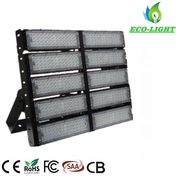 High quality LED flood light 500 watt high mast lamp sport tennis court LED arena light