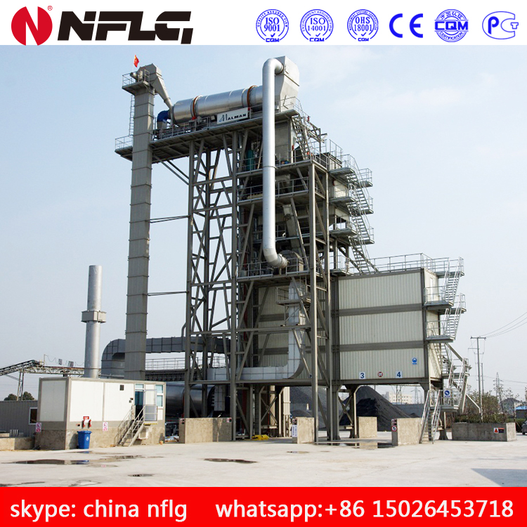 Recycled asphalt plant high-tech easy batch highway asphalt plant