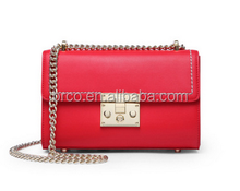 factory wholesale vintage famous lady pure leather shoulder bag