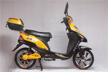 Hot sale 350w 48w CE certificate cheap electric moped scooter for sale