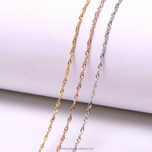 Assorted necklace chain jewelry necklace dropshipping