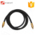 Toslink Cable 12 Feet Digital Optical Audio Cable with metal case 24K gold plated connectors and braided