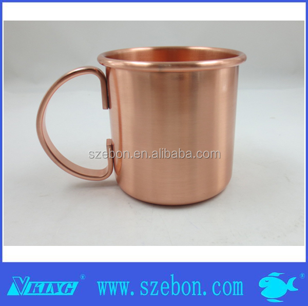 Moscow mule mug copper plated cup manufacture