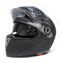 Hot Selling Crazy Price Modular Helmet Filp Up with Sun Visor