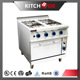 4 burner gas cooker with gas oven , gas range oven