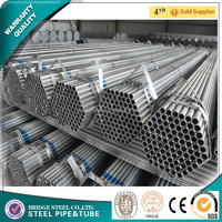 Google building materials threaded galvanized steel pipe 1 1/4 inch