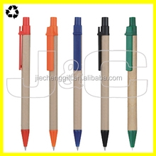 2016 Good quality promotional paper ball point pen/custom pens for sale