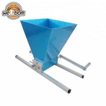 High Quality Malt Mill Homebrew Stainless steel 2 rollers Malt Mill Grain Grinder Crusher Aluminum alloy Base