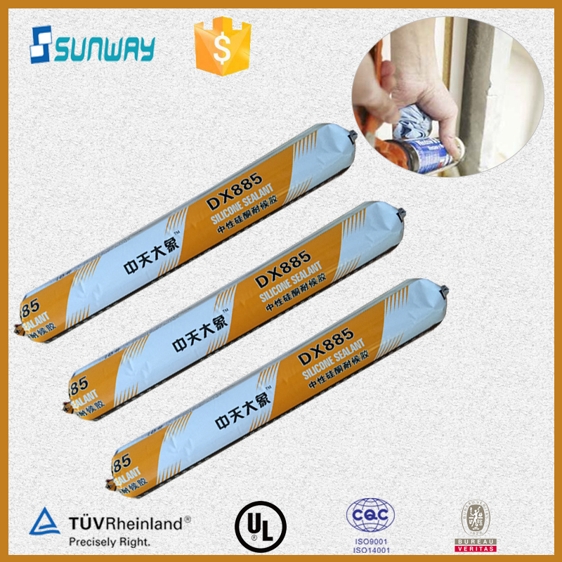 DX-885 sausage packaging clear laminate flooring silicone sealant