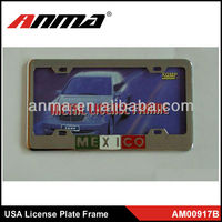 USA funny souvenir car license plate