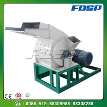 Compact structure timber slab chipper hammer grinder