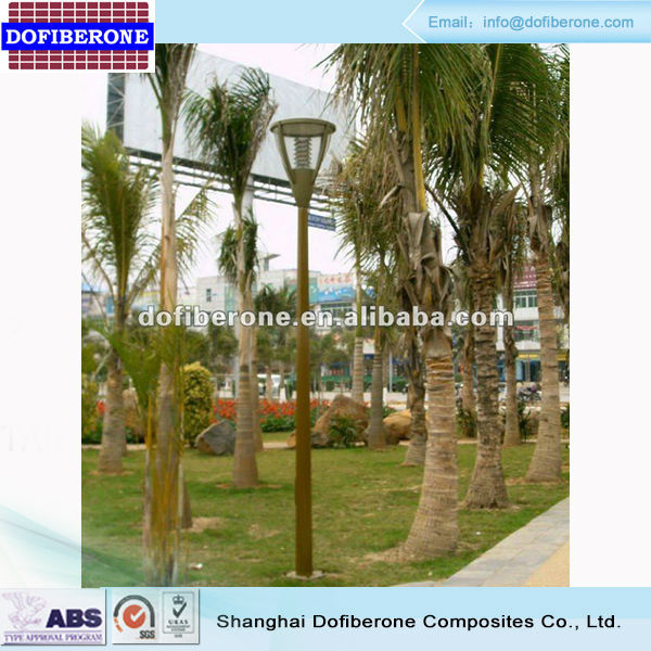 Fiberglass FRP GRP lighting pole