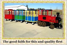 funny games electric amusement backyard train for children