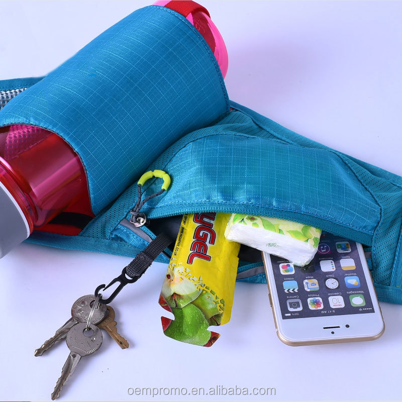 Colorful Breathable Water Bottle Waist Pack Holder