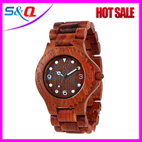 2015 Wooden watches Japanese Movement Wooden wrist watches
