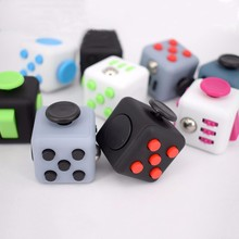 2017 trending products customized design desk toy fidget cube