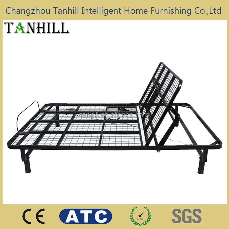 single size adjustable metal bed frame made in China