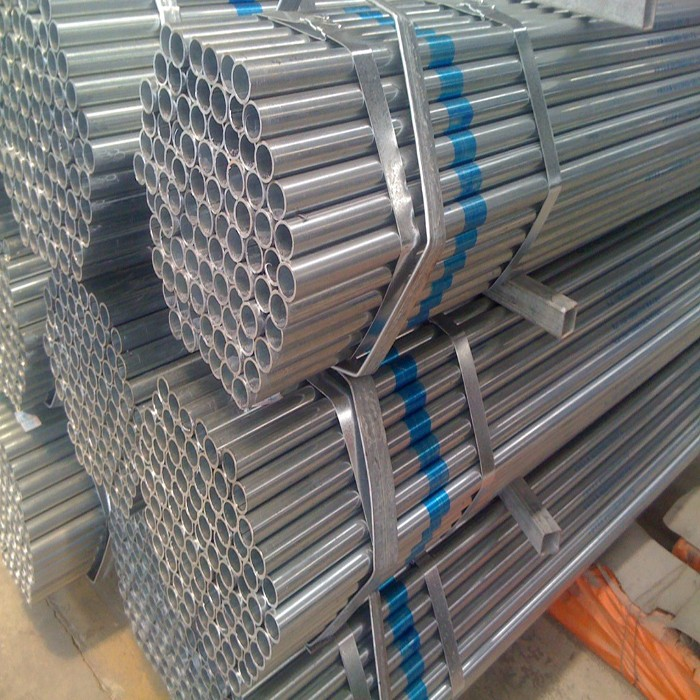 China 2 inch galvanized pipe round welded steel tube g i pipe